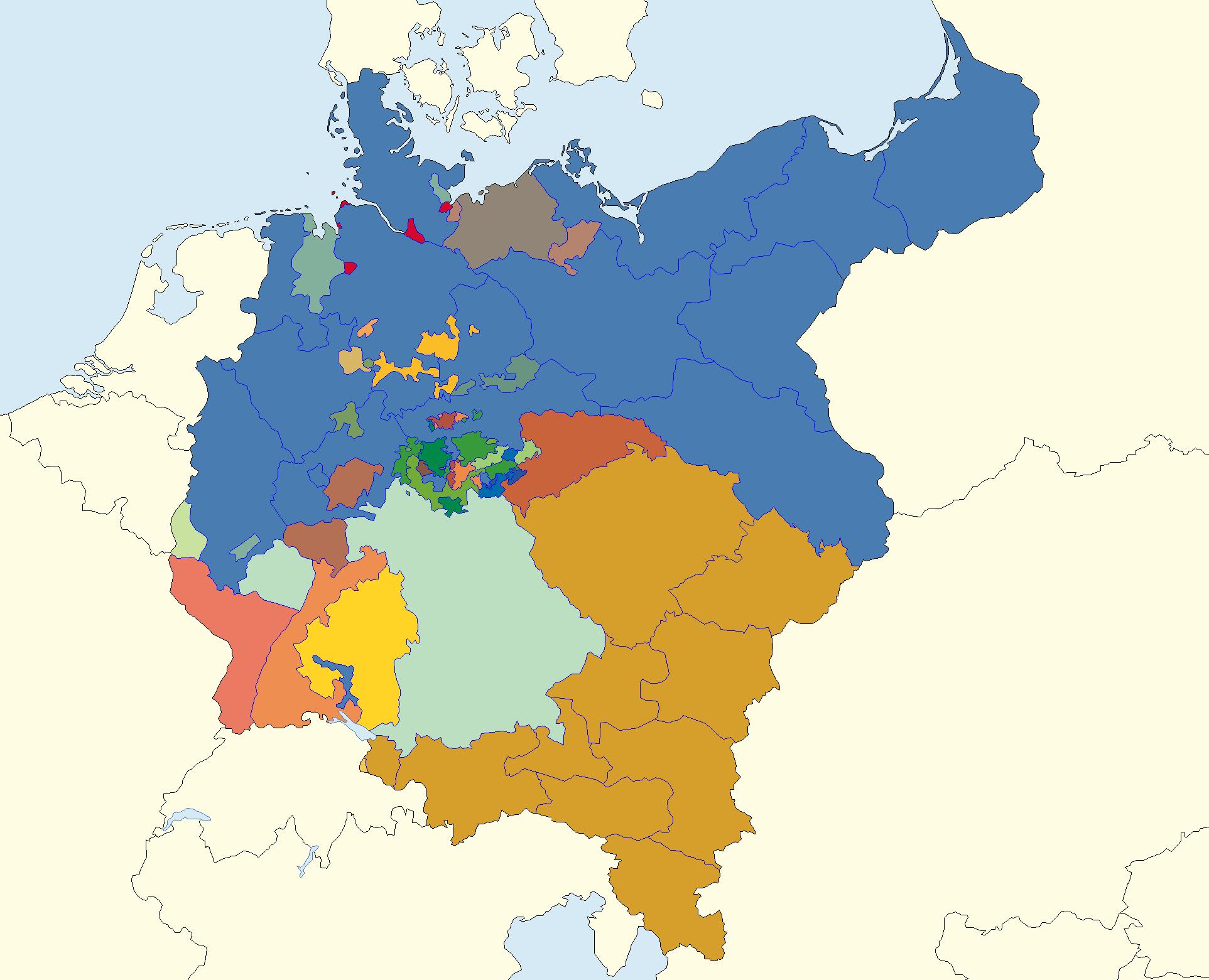 Germany 1871 By Jjohnson1701 On Deviantart