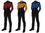 Class A Starfleet Uniform (male) (Star Trek) by JJohnson1701