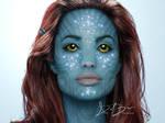 Angelina Jolie Avatar by DieselBarracuda