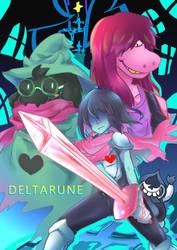 Deltarune by Senyabud
