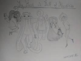 My Head is Full of Absurdities (MHFA) by AuroreMaudite09