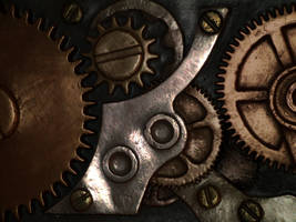 Steampunk Gears 2 by goo-goo-gajoob