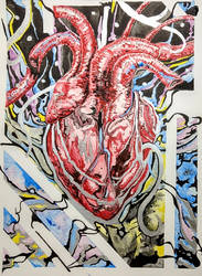 Heart works .  .  . by RuvellKhaosArt