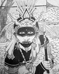 Yaki Shaman .  .  . by RuvellKhaosArt
