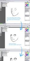 Face Basic Tutorial by hahahayuus