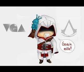 VGA - Ezio Wins by Mibu-no-ookami