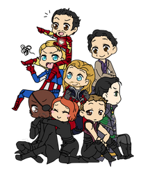 Avengers by Mibu-no-ookami