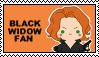 Stamp - Black Widow by Mibu-no-ookami