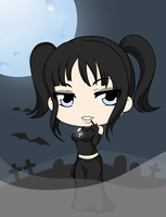 Chibi Goth Series - I by Mibu-no-ookami
