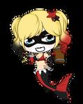 Arkham Aquarium - Mermaid Series - Harley Quinn by Mibu-no-ookami