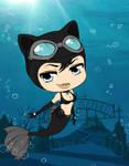 Arkham Aquarium - Catwoman by Mibu-no-ookami