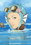 SteamPunk Series - SeaGears - Mechanical Fish by Mibu-no-ookami