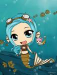 SeaGears - Mechanical Fish + Little Krill by Mibu-no-ookami