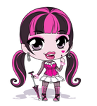 Monster High - Draculaura by Mibu-no-ookami