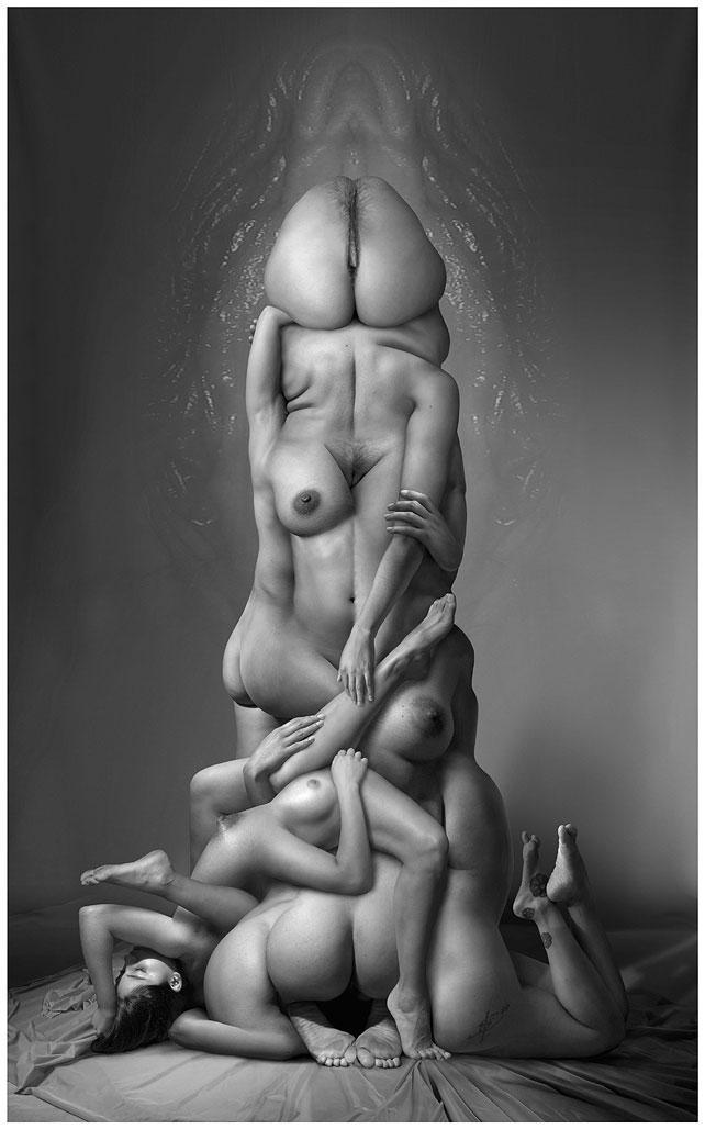 Femofalic Sculpture by darthstrider