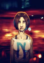 Nemain - cover art by DVan7