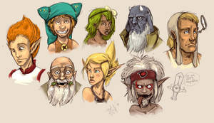 Wakfu portraits by DVan7