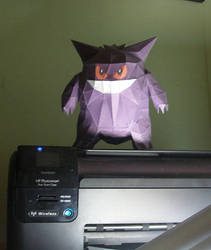 Its haunting my printer by hirokiro