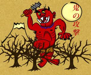 Oni attack by Christopia1984