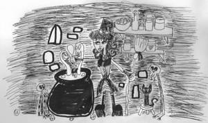 Cauldron Brewing by Christopia1984