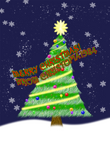 Merry Christmas Card by Christopia1984