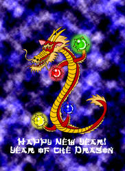 Year of the dragon 2012 no numbers by Christopia1984