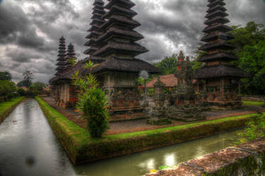 Pura Taman Ayun Temple - Bali by LoveArtOnline