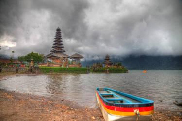 Pura Ulun Danu Bratan - Bali, Indonesia by LoveArtOnline