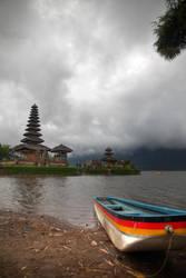 Pura Ulun Danu Bratan - Bali, Indonesia (low tide) by LoveArtOnline