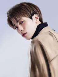 Jonghyun (SHINee) by TYV-ART