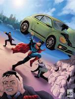 Action comics #1 Full art by IAmNoxArt