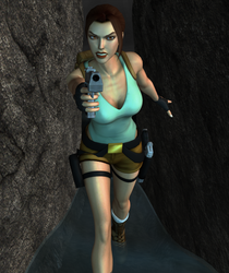 In a tight spot by tombraider4ever