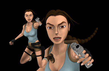 Lara fmv classic, wip 1 by tombraider4ever