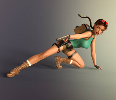 Classic Raider 56 by tombraider4ever