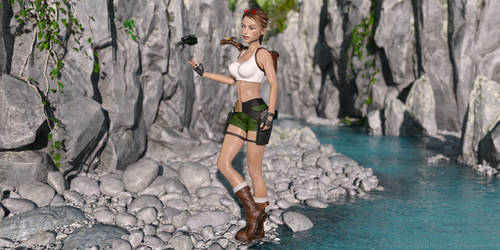 Classic Raider 195 by tombraider4ever
