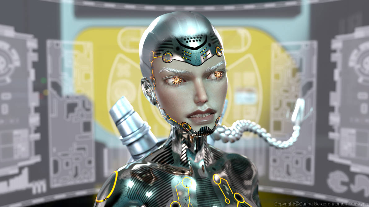 Lara Cyborg 5 by tombraider4ever