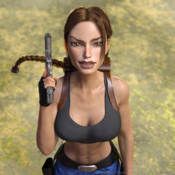 Classic Raider 201 by tombraider4ever