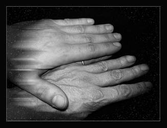 Young and old hand by stock1-2-3