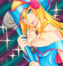 Dark Magician Girl by ElenNarome