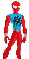 Ben Reilly as Scarlet Spider by christiem