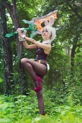 Battle Bunny Riven I by EnchantedCupcake