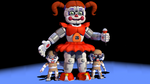 Baby and the bidybabs by Bantranic