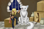 Wolf girl by popolis