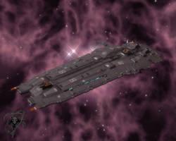 Higaran Battlecruiser by karanua