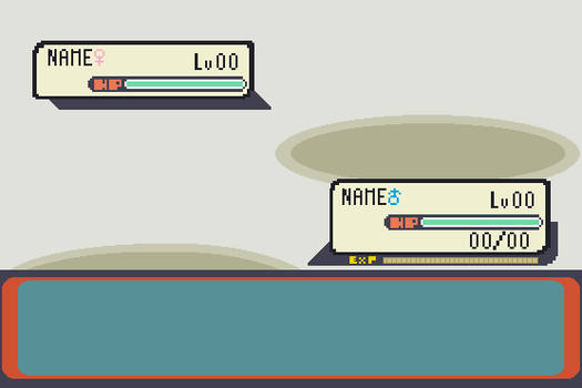 Free Pokemon Battle Template by PeregrineTheGryphon