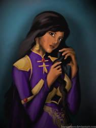 [Request] Aaliyah al-Ahdal by HannaEsser