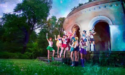 Sailor Moon Crystal by LetoAnastasia