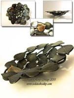 Aspen Leaf Bowl 2 by isolatedreality