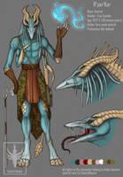 R'yar'Kor design for Aisha-Autumn by VentralHound