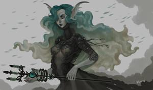 mermaid by VentralHound